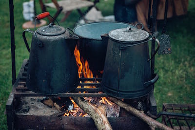Can You Use Pots On The Grill For