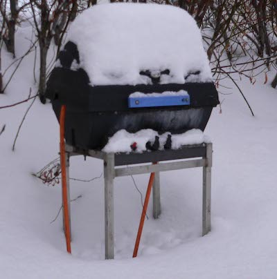 Can you use a propane grill in cold weather