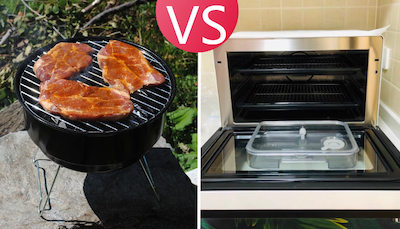 difference between grill and oven