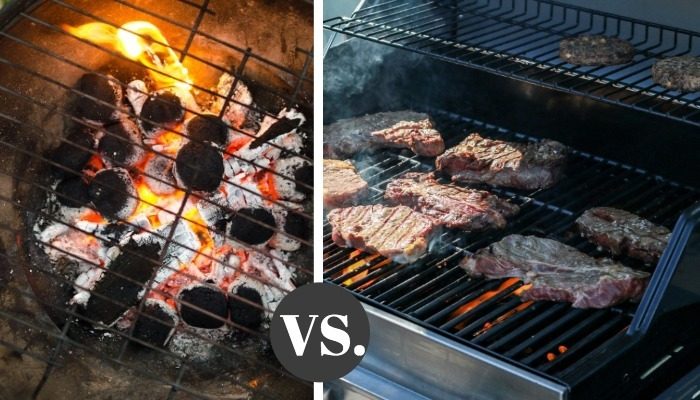 Charcoal Grill Vs Gas Grill : Pros And Cons - For Your Grill