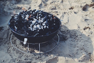 Charcoal Grill as a Fire Pit?